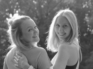 Gründerinnen von EduSports Elsa und Melanie